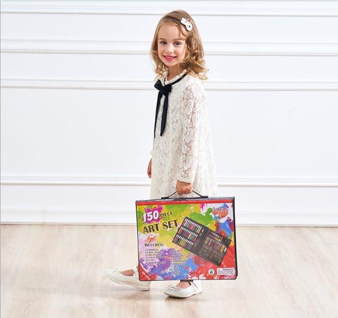 podarochnyj nabor dlja risovanija detskij 150 jelementov masterpiece 02 - Подарочный набор для рисования детский 150 элементов Masterpiece