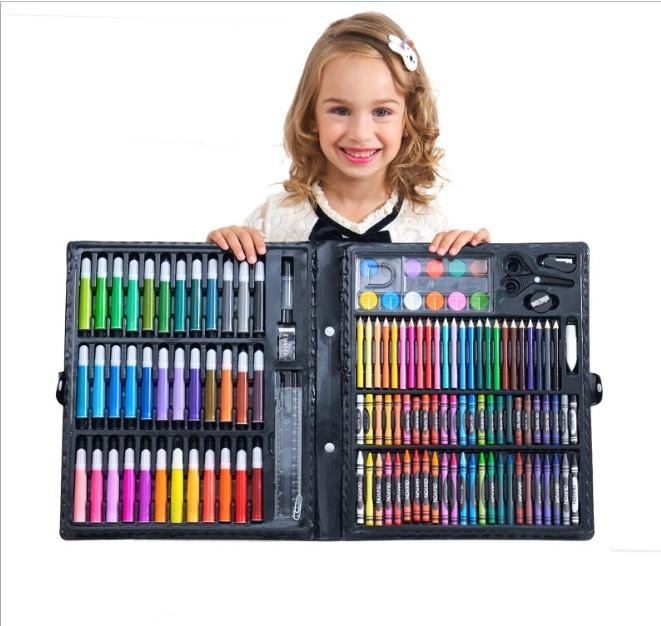 podarochnyj nabor dlja risovanija detskij 150 jelementov masterpiece 03 - Подарочный набор для рисования детский 150 элементов Masterpiece