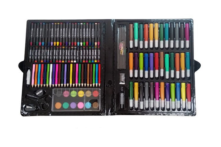podarochnyj nabor dlja risovanija detskij 150 jelementov masterpiece 14 - Подарочный набор для рисования детский 150 элементов Masterpiece