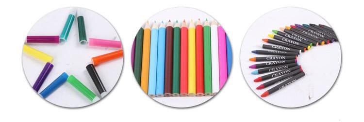 podarochnyj nabor dlja risovanija detskij 150 jelementov masterpiece 15 1 - Подарочный набор для рисования детский 150 элементов Masterpiece