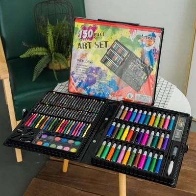 Подарочный набор для рисования детский 150 элементов Masterpiece