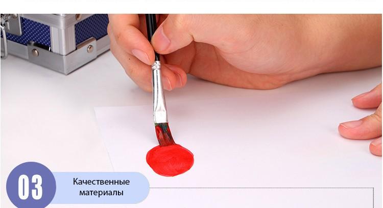 professionalnyj nabor hudozhnika v chemodanchike arts - Профессиональный набор художника в чемоданчике Arts Exam: раскладной, 150 элементов