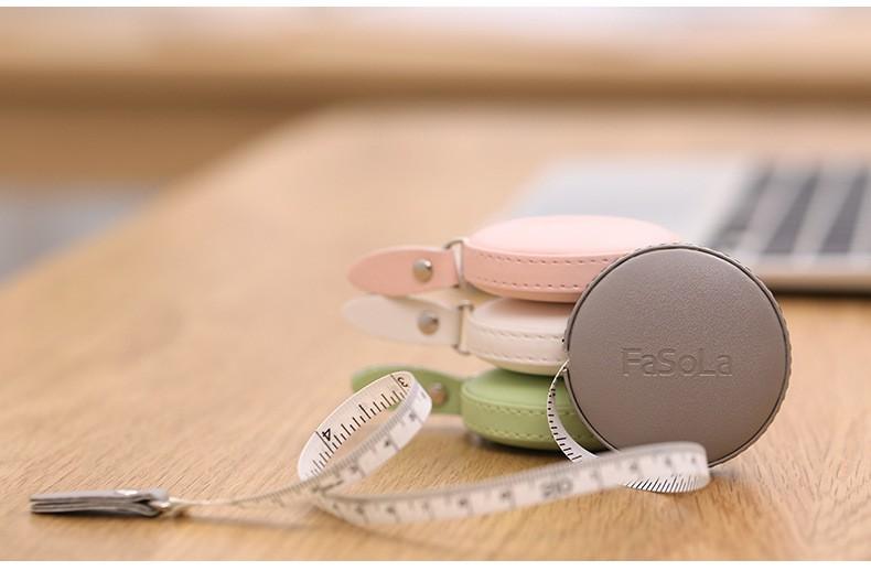 Сантиметровая лента-рулетка, швейный сантиметр 150 см FaSoLa (возможна печать логотипа)