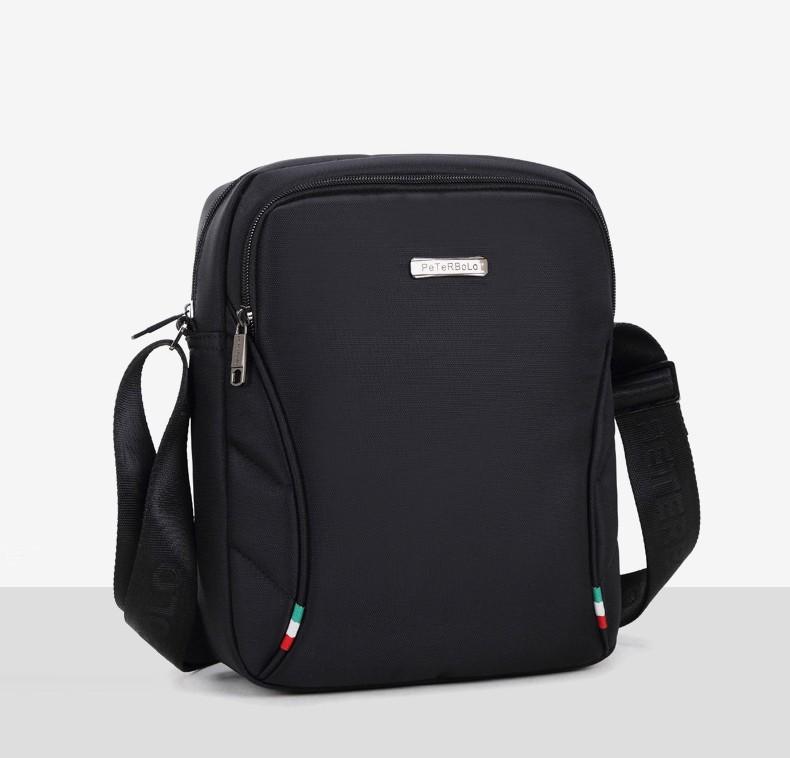 Классическая сумка-переноска для ноутбука PETERBOLO Notte