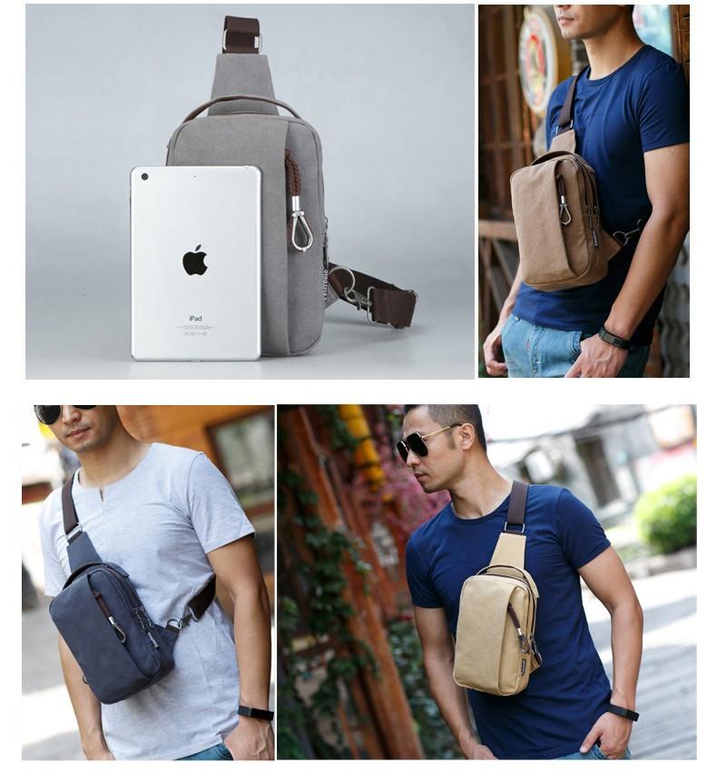 Мужская мини-сумка, рюкзак через плечо PETERBOLO Mool