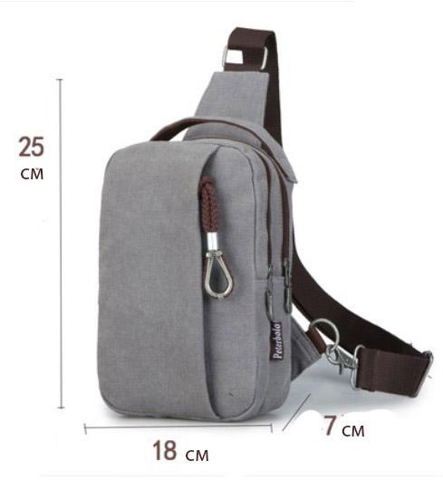 muzhskaja mini sumka rjukzak cherez plecho peterbolo mool 21 - Мужская мини-сумка, рюкзак через плечо PETERBOLO Mool