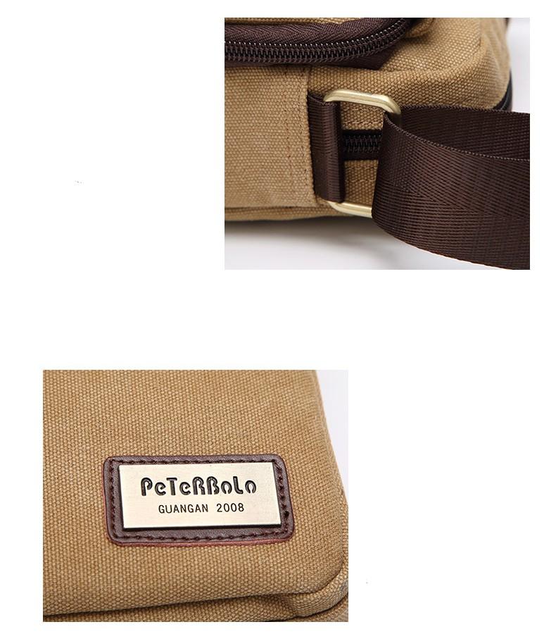 muzhskaja plechevaja sumka peterbolo maskilli plus so semnym otdeleniem dlja butylki 15 - Мужская сумка наплечная Peterbolo Maskilli со съемным карманом для бутылки