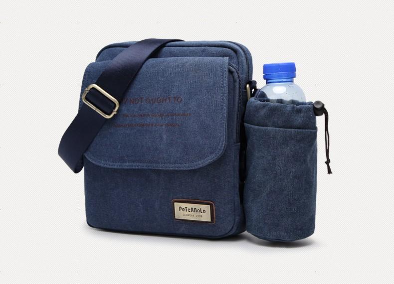 muzhskaja plechevaja sumka peterbolo maskilli plus so semnym otdeleniem dlja butylki 21 - Мужская сумка наплечная Peterbolo Maskilli со съемным карманом для бутылки
