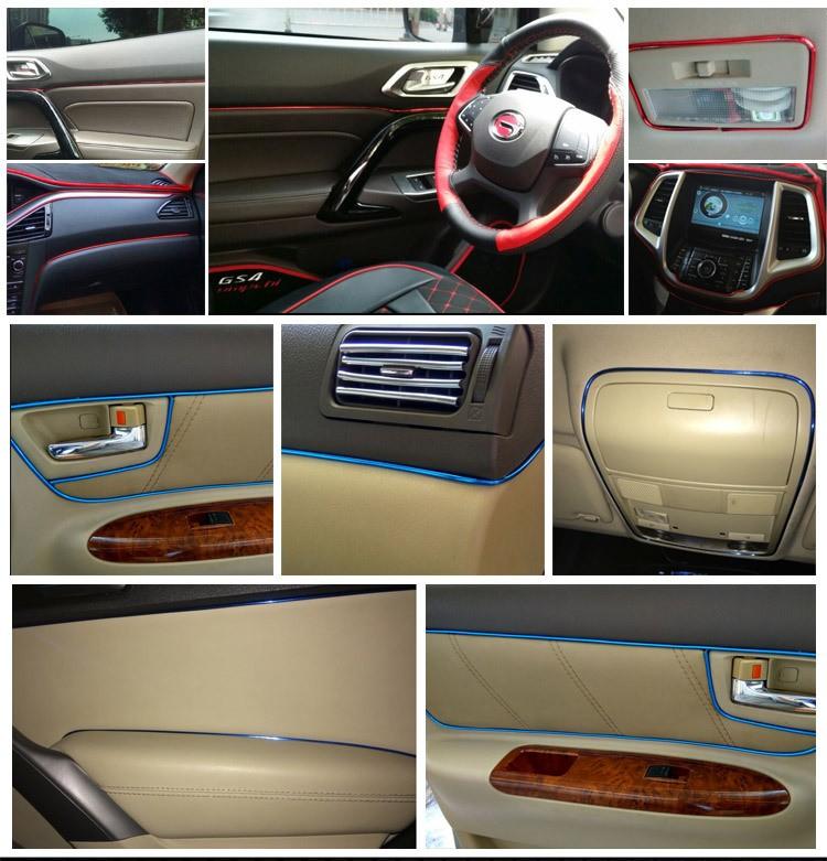 Универсальный автомобильный уплотнитель для двери, молдинг салона авто – НЕ клеящийся!