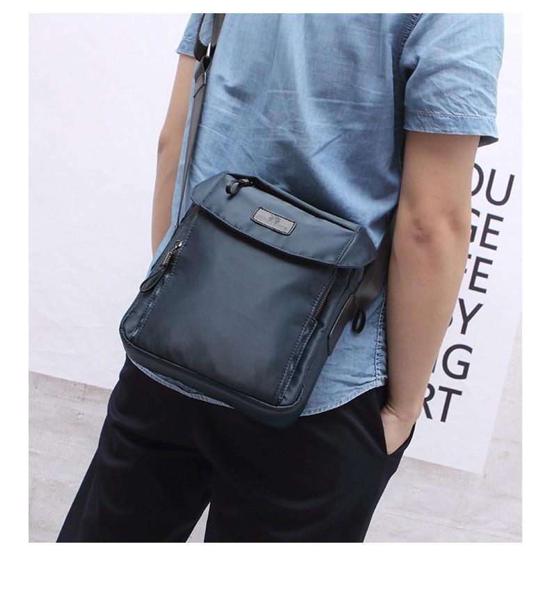 Мужская спортивная сумка-мини через плечо PETERBOLO Fortuna