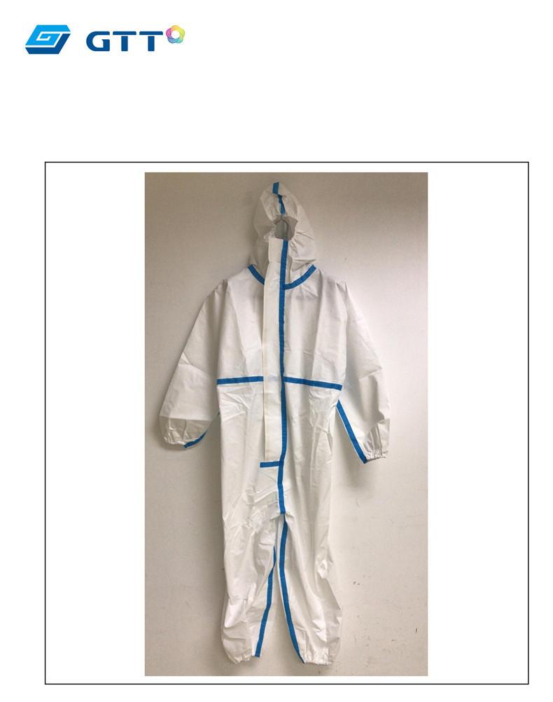 13799006210 1755214704 1 - Медицинский защитный костюм (от вирусов, при микробиологической угрозе) – стандарт EN 14126:2003, протокол испытаний GB 19082-2009