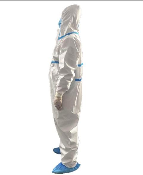3 1 - Медицинский защитный костюм (от вирусов, при микробиологической угрозе) – стандарт EN 14126:2003, протокол испытаний GB 19082-2009