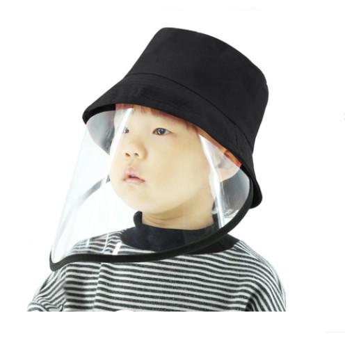 Детский защитный экран для лица с шапочкой (противовирусная детская маска защитная + панама) 252214