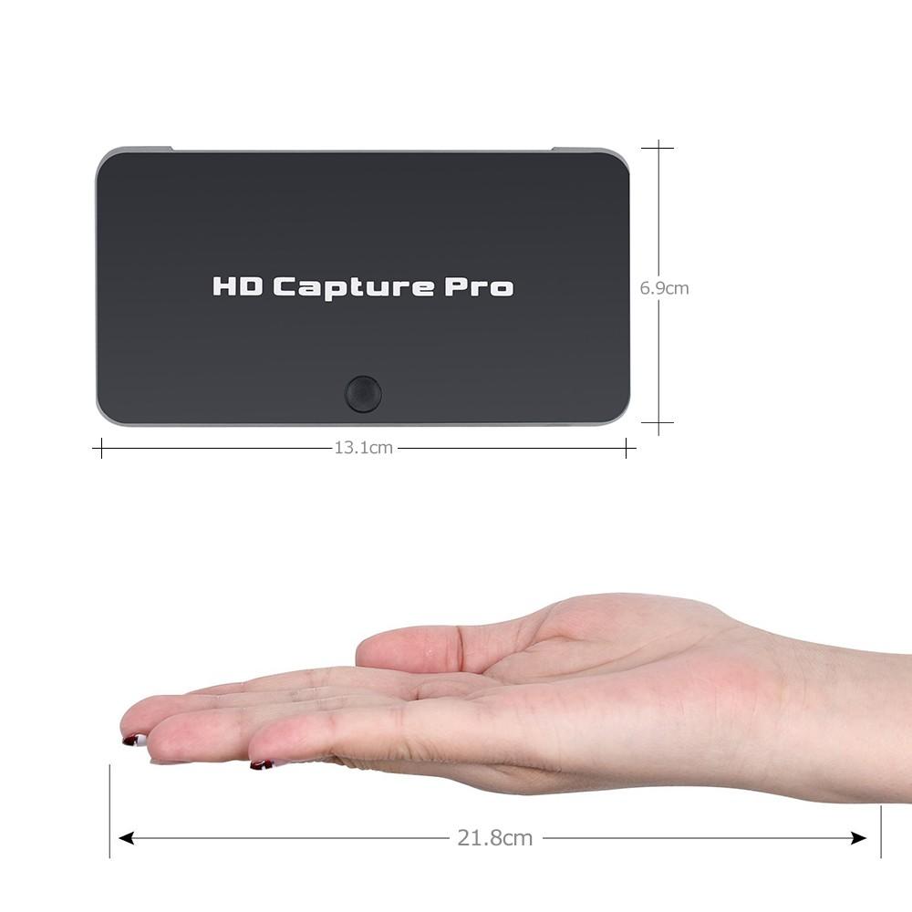 Карта видеозахвата Ezcap 295 Pro HDMI 1080P – микрофон, Live-видео, воспроизведение 251554