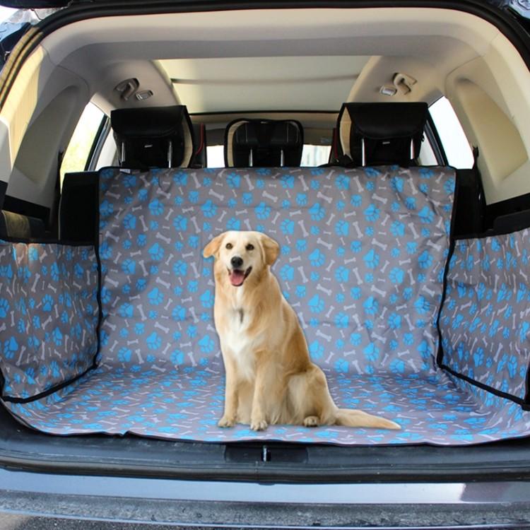 Нескользящий складной водонепроницаемый автомобильный чехол для животных в багажник, коврик для перевозки собаки, кота, питомца PetTrevel