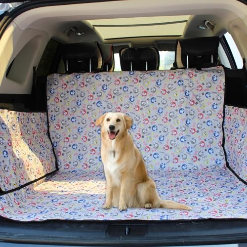Нескользящий складной водонепроницаемый автомобильный чехол для животных в багажник, коврик для перевозки собаки, кота, питомца PetTrevel 252026