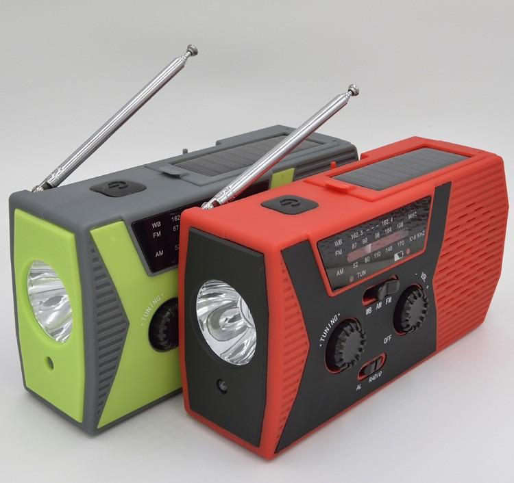 portativnoe dinamo radio s zarjadkoj usb power bank solnechnoj panelju i fonarikom sunshy 018wb 03 - Портативное динамо-радио с зарядкой USB, Power Bank, солнечной панелью и фонариком SunSHY-018WB