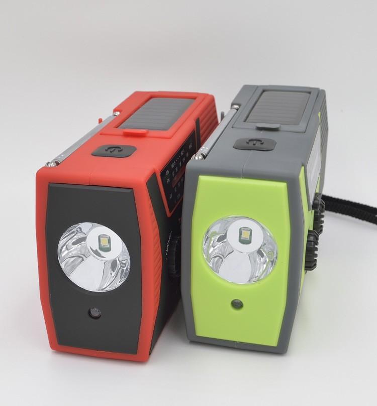 portativnoe dinamo radio s zarjadkoj usb power bank solnechnoj panelju i fonarikom sunshy 018wb 05 - Портативное динамо-радио с зарядкой USB, Power Bank, солнечной панелью и фонариком SunSHY-018WB