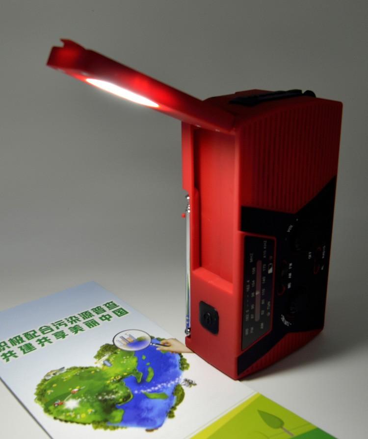 portativnoe dinamo radio s zarjadkoj usb power bank solnechnoj panelju i fonarikom sunshy 018wb 06 - Портативное динамо-радио с зарядкой USB, Power Bank, солнечной панелью и фонариком SunSHY-018WB
