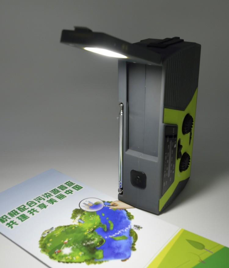 portativnoe dinamo radio s zarjadkoj usb power bank solnechnoj panelju i fonarikom sunshy 018wb 07 - Портативное динамо-радио с зарядкой USB, Power Bank, солнечной панелью и фонариком SunSHY-018WB