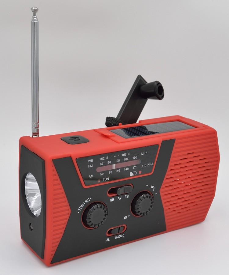 portativnoe dinamo radio s zarjadkoj usb power bank solnechnoj panelju i fonarikom sunshy 018wb 08 - Портативное динамо-радио с зарядкой USB, Power Bank, солнечной панелью и фонариком SunSHY-018WB