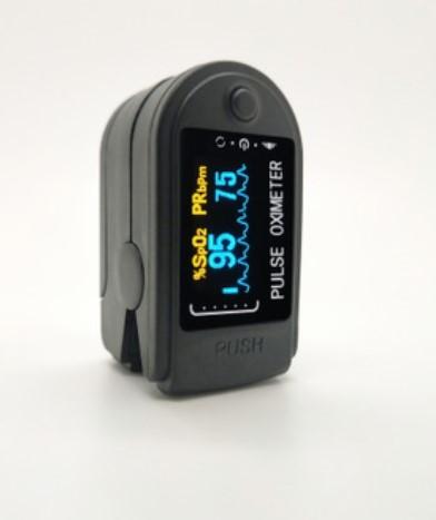 Пульсоксиметр CONTEC CMS50D-BT с шагомером и счетчиком калорий