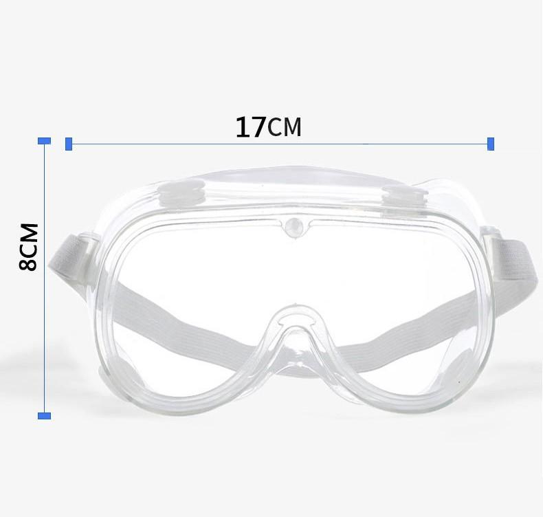 zashhitnye ochki dlja glaz zashhitnaja polumaska ot virusov 01 - Медицинские очки защитные – 100% герметичная защита от вирусов, осколков, пыли