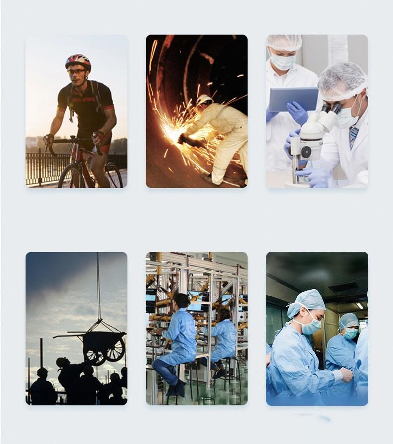Защитные очки для глаз, защитная полумаска от вирусов, пыли, воды, осколков