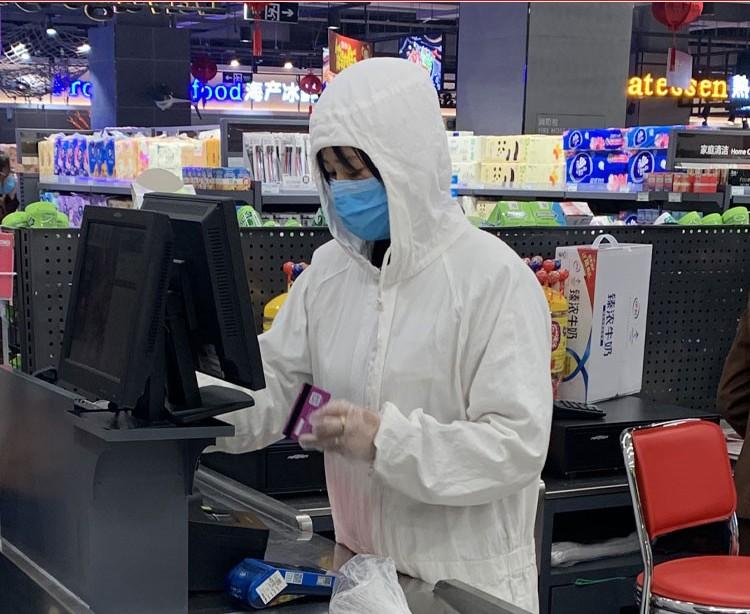 zashhitnyj kostjum medicinskaja zashhitnaja odezhda antivir 04 1 - Защитный костюм (медицинская защитная одежда) AntiVir - (маска в комплект не входит)