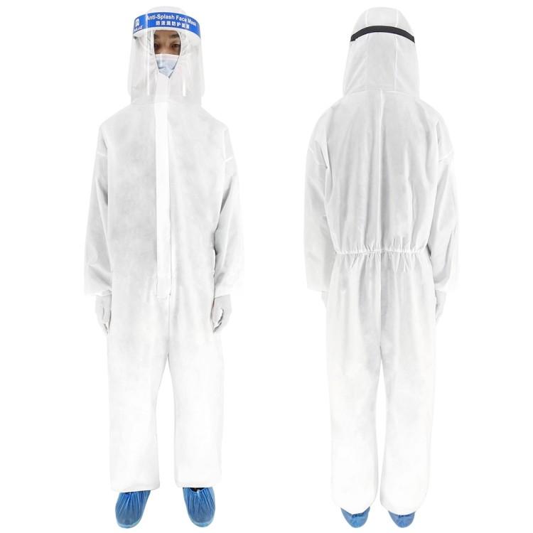 Индивидуальный защитный комплект врача-инфекциониста: защитный костюм+ маска KN95 + защитный экран для лица 251951