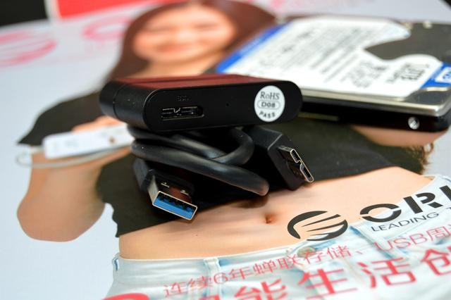 Кабель адаптер USB3.0 SATA для SSD HDD дисков 12 - Кабель-адаптер USB3.0-SATA для SSD/ HDD-дисков, 6.0 Гбит/с, 0,3 м Orico