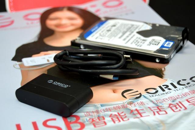 Кабель адаптер USB3.0 SATA для SSD HDD дисков 15 - Кабель-адаптер USB3.0-SATA для SSD/ HDD-дисков, 6.0 Гбит/с, 0,3 м Orico