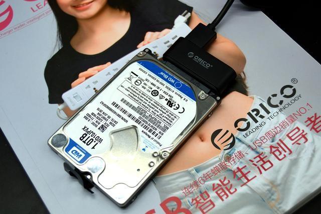 Кабель адаптер USB3.0 SATA для SSD HDD дисков 16 - Кабель-адаптер USB3.0-SATA для SSD/ HDD-дисков, 6.0 Гбит/с, 0,3 м Orico
