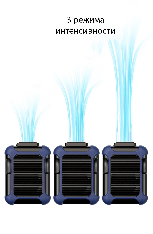 USB вентилятор с зажимом для одежды с Power Bank 4000 мАч 12 - Портативный USB-вентилятор с зажимом для одежды с Power Bank 4000 мАч