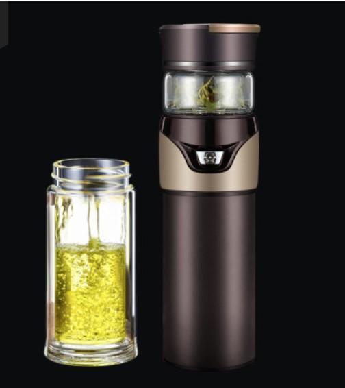 Термокружка инфузер для чая Tea Splash 08 - Инфузер для чая, термокружка Tea Inspiration 500 мл