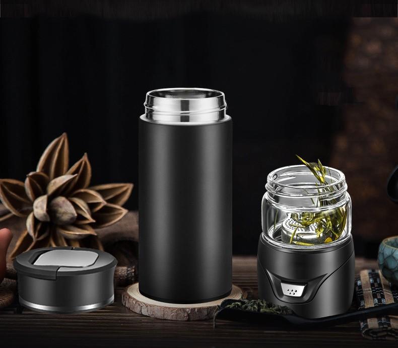 Термокружка инфузер для чая Tea Splash 22 - Инфузер для чая, термокружка Tea Inspiration 500 мл