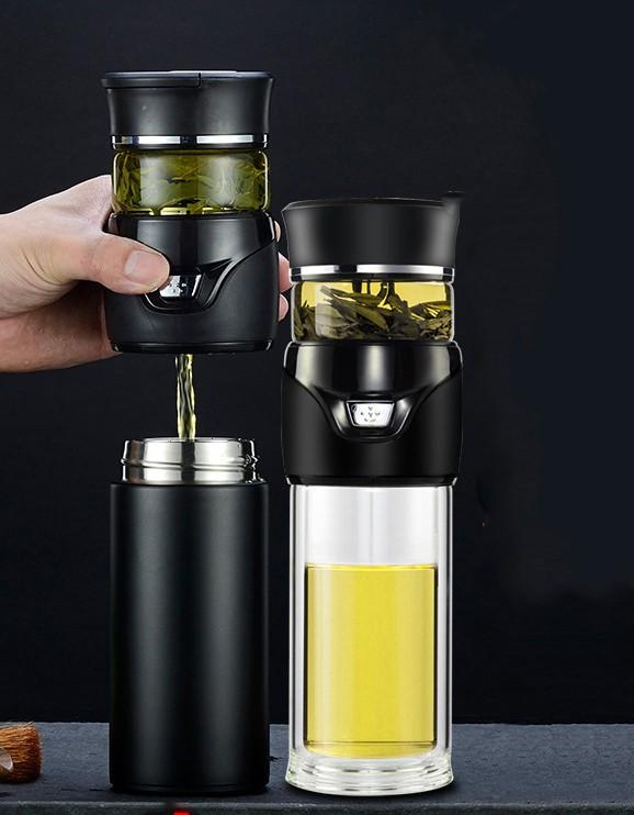 Термокружка инфузер для чая Tea Splash 26 - Инфузер для чая, термокружка Tea Inspiration 500 мл