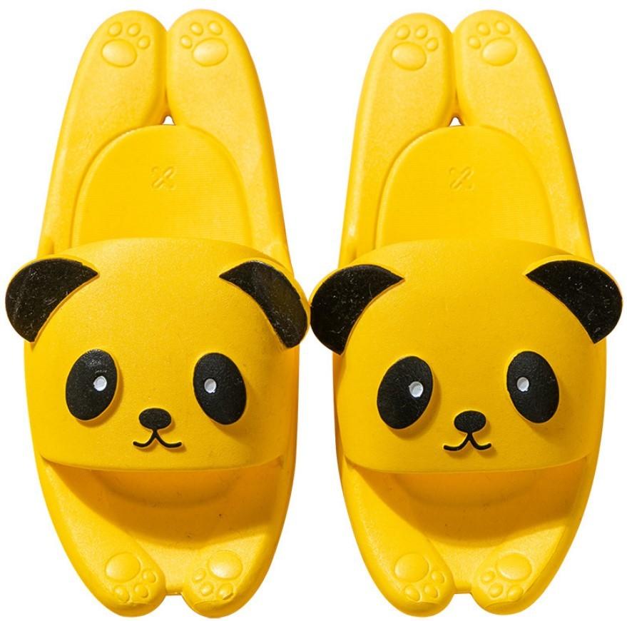Пляжные тапки мужские женские детские Панда 02 - Пляжные тапки мужские, женские, детские Панда, удобные шлепанцы, шлепки
