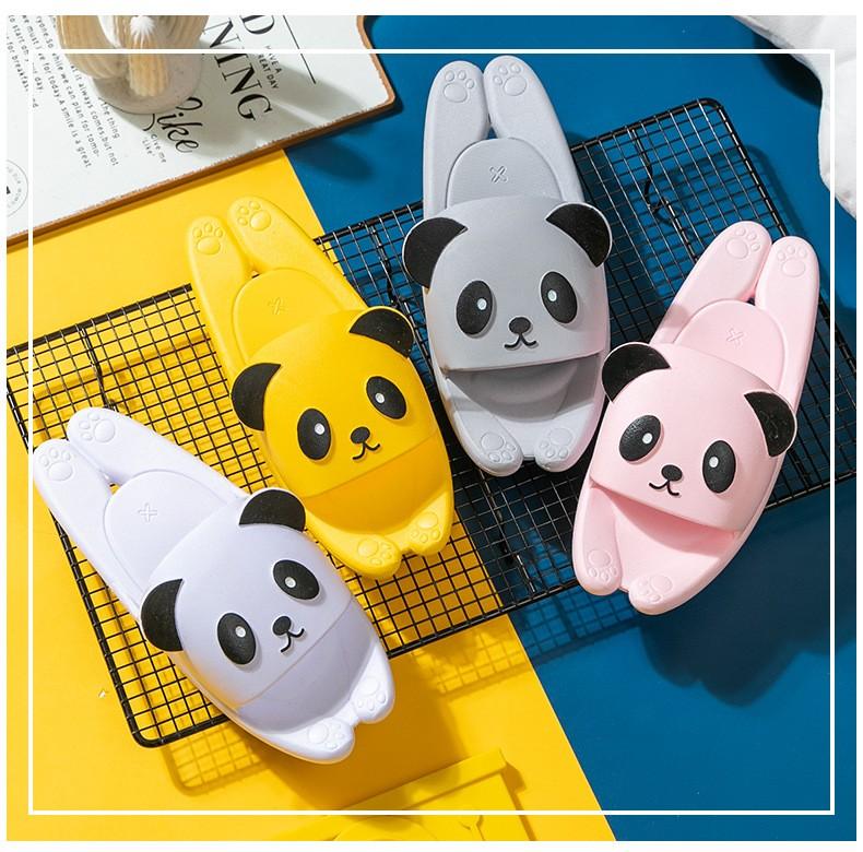 Пляжные тапки мужские женские детские Панда 09 - Пляжные тапки мужские, женские, детские Панда, удобные шлепанцы, шлепки