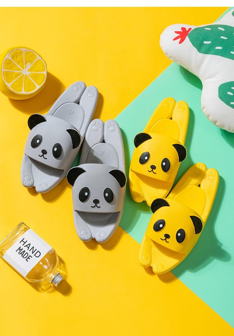 Пляжные тапки мужские женские детские Панда 10 - Пляжные тапки мужские, женские, детские Панда, удобные шлепанцы, шлепки