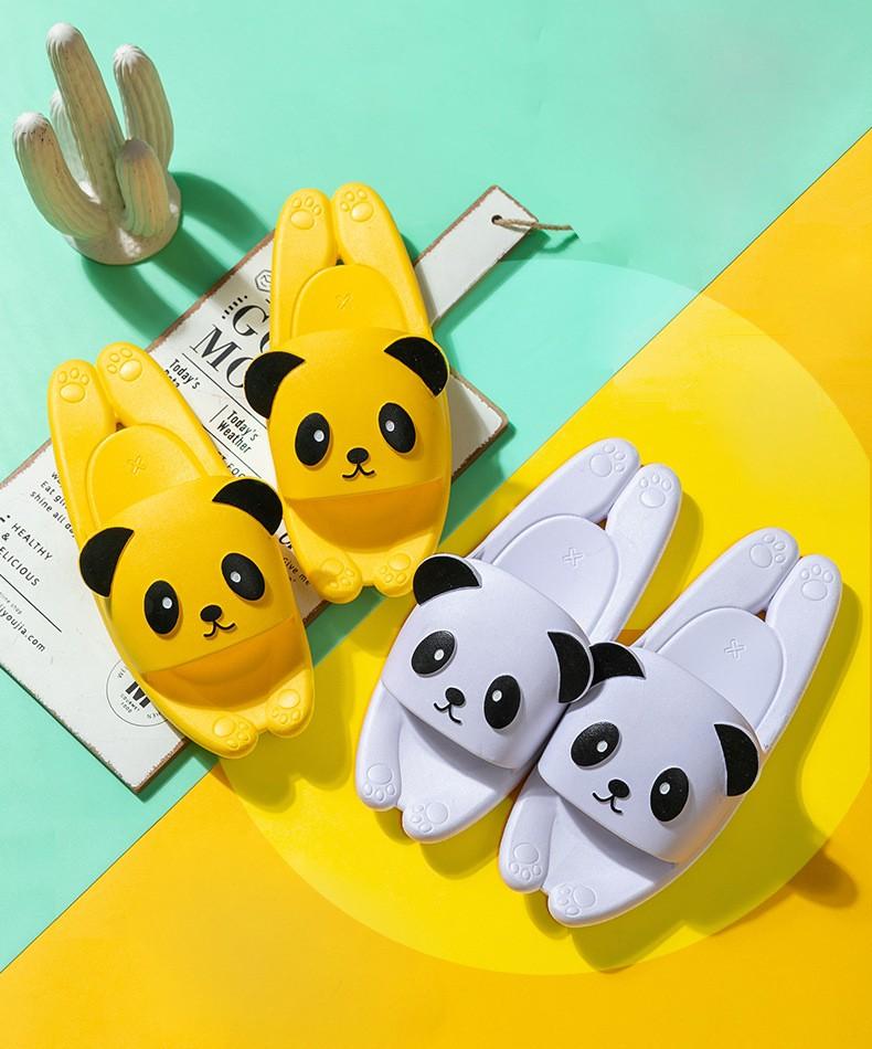 Пляжные тапки мужские женские детские Панда 14 - Пляжные тапки мужские, женские, детские Панда, удобные шлепанцы, шлепки