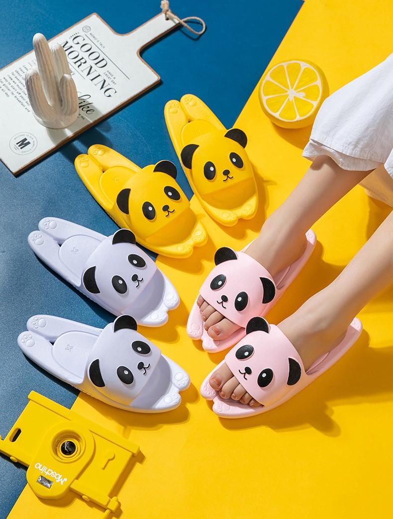 Пляжные тапки мужские женские детские Панда 15 - Пляжные тапки мужские, женские, детские Панда, удобные шлепанцы, шлепки