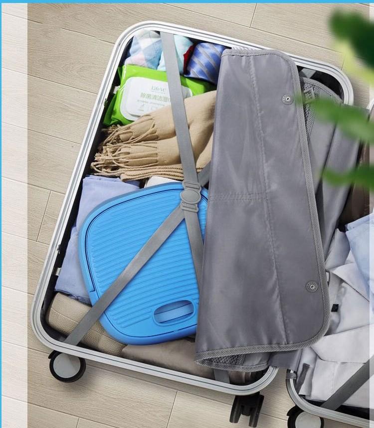 Складная стиральная машина ведро портативная 04 - Складная стиральная машина-ведро портативная до 2 кг белья, портативная мини-стиралка