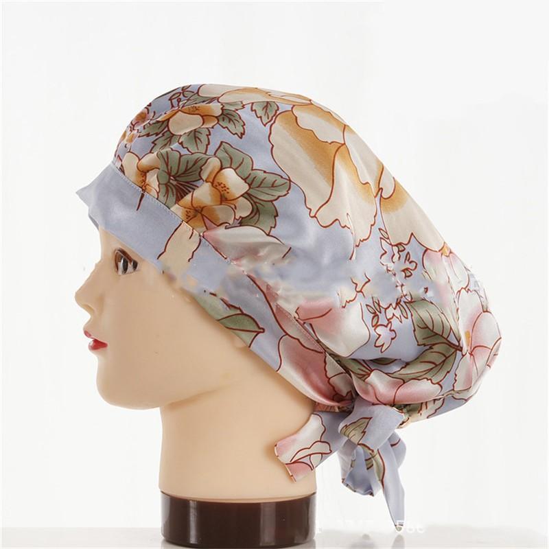 шапочка для сна регулируемая 04 - Шелковая шапочка для сна регулируемая, натуральный шелк