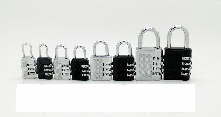 1103742290 115403157 - Навесной кодовый замок на чемодан, замок с кодом (большой) для рюкзака