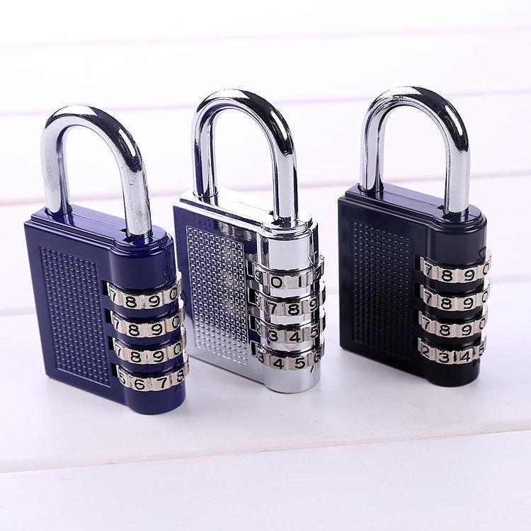 Навесной кодовый замок на чемодан, замок с кодом (большой) для рюкзака