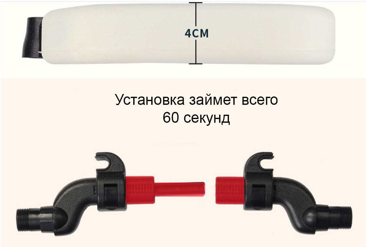 Держатель для головы в машину EasyDream 06 - Держатель для головы в машину, боковые подголовники на сиденье автомобиля, фиксатор для головы EasyDream