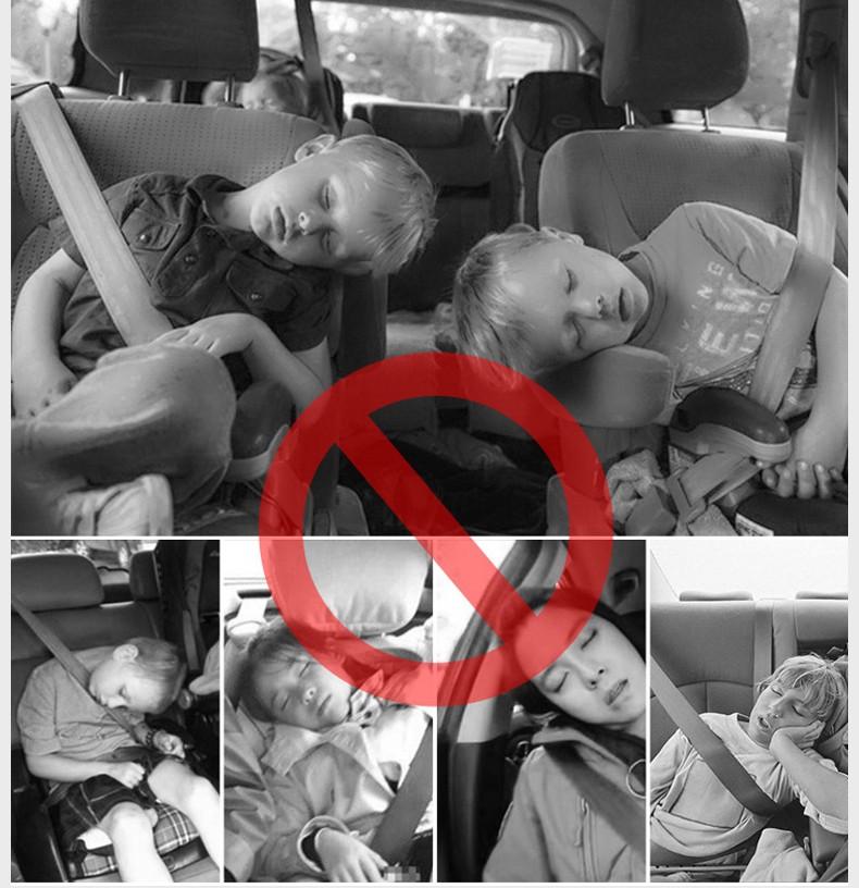 Держатель для головы в машину EasyDream 18 - Держатель для головы в машину, боковые подголовники на сиденье автомобиля, фиксатор для головы EasyDream
