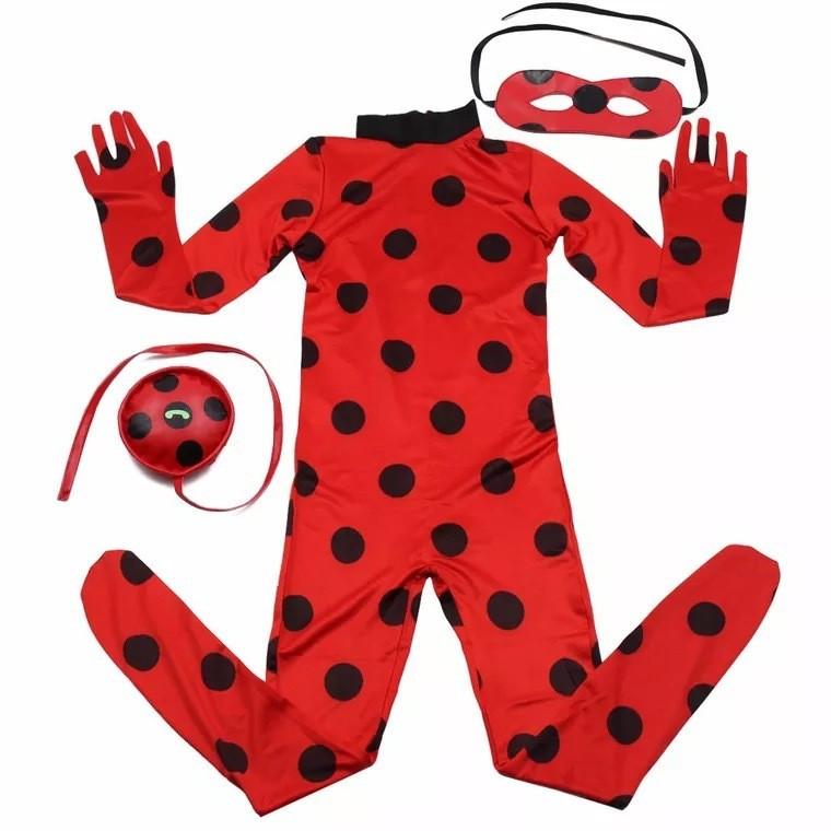 Леди Баг детский взрослый 29 - Костюм Леди Баг детский, взрослый: комбинезон, маска, сумка, парик (на выбор), все размеры