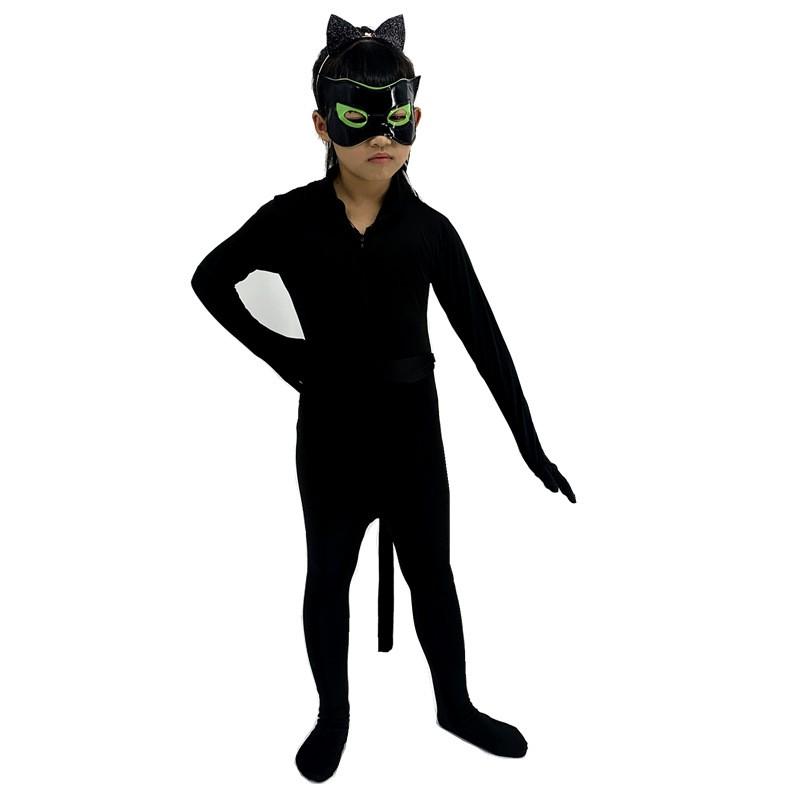 Костюм Супер Кота из мультика Леди Баг и Супер Кот 09 - Костюм Супер-Кота из мультика Леди Баг и Супер-Кот - детский, взрослый, все размеры